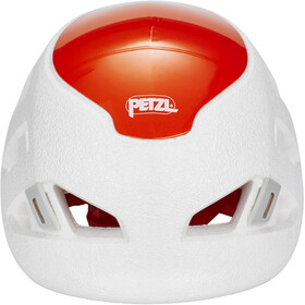 Petzl Sirocco Casco de escalada, white/orange